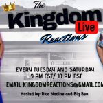 ALL NEW SEASON OF KINGDOM REACTIONS LIVE MUSIC REVIEW